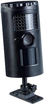 VisorTech Bewegungsmelder Kamera: Wetterfeste HD-Überwachungskamera IRC-100 mit Nachtsicht, SD-Recording (Außenkamera mit Bew