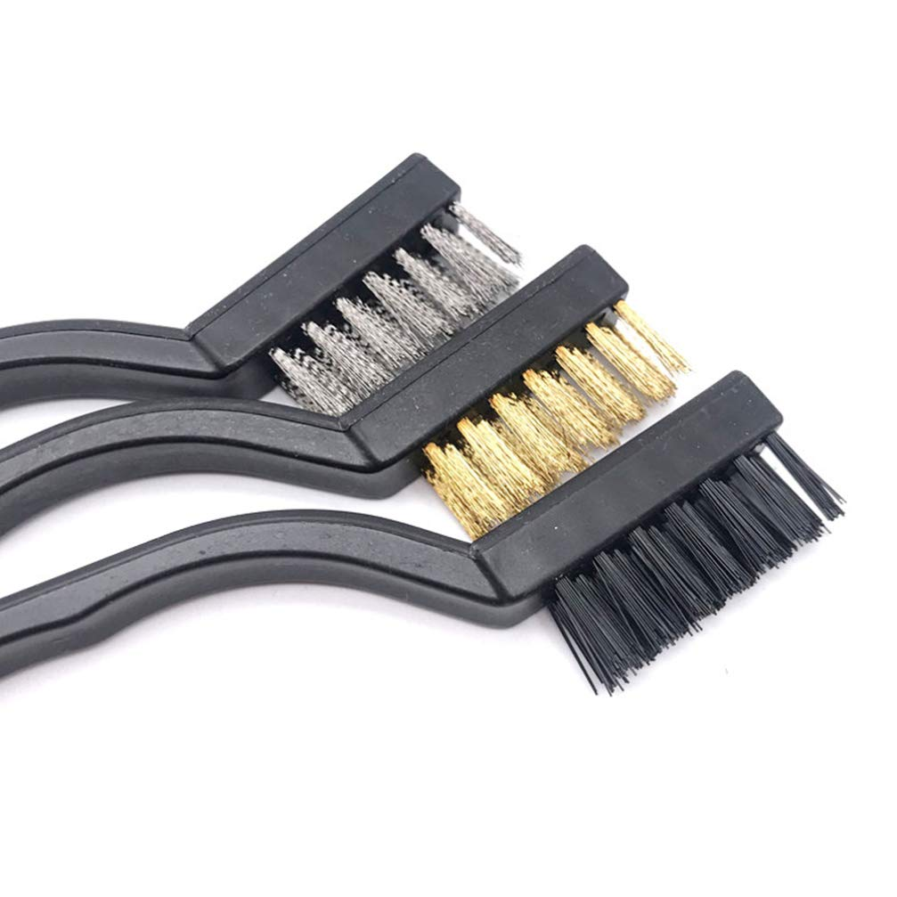 iplusmile 6 Piezas Cepillos Antiest/áticos Cepillos Multiusos Cepillo de Limpieza Cepillos de Varios Tama/ños para Teclados de Computadora Interior Del Autom/óvil