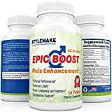 EpicBoost Male Enhancement Supplement (60 Tablets)