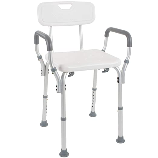 Best Shower Chair: Vive Shower Chair with Back