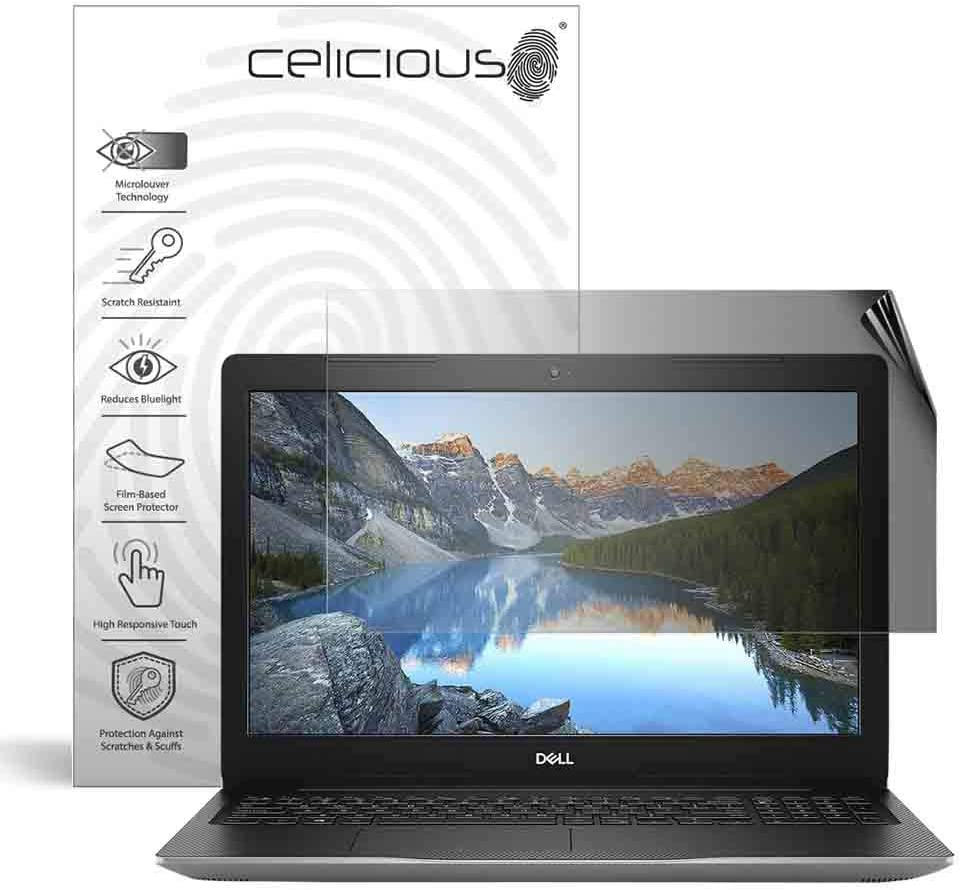 Celicious Privacy 2-Way Anti-Spy Filter Screen Protector Film Compatible with Dell Inspiron 15 3585 (Touch) 61k5xMvPQRL