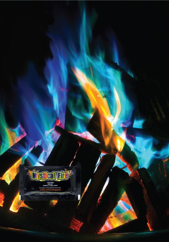 1er Pack Bringe Farbe ins Feuer Mystical Fire