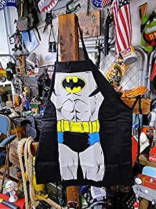 Batman pattern Apron Muscle man cooking Apron Party BBQ Gifts for male/female