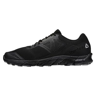 Reebok Mens Zstrike Run Running Shoes Black Running Dark GreyBlack  Amazoncouk Shoes  Bags