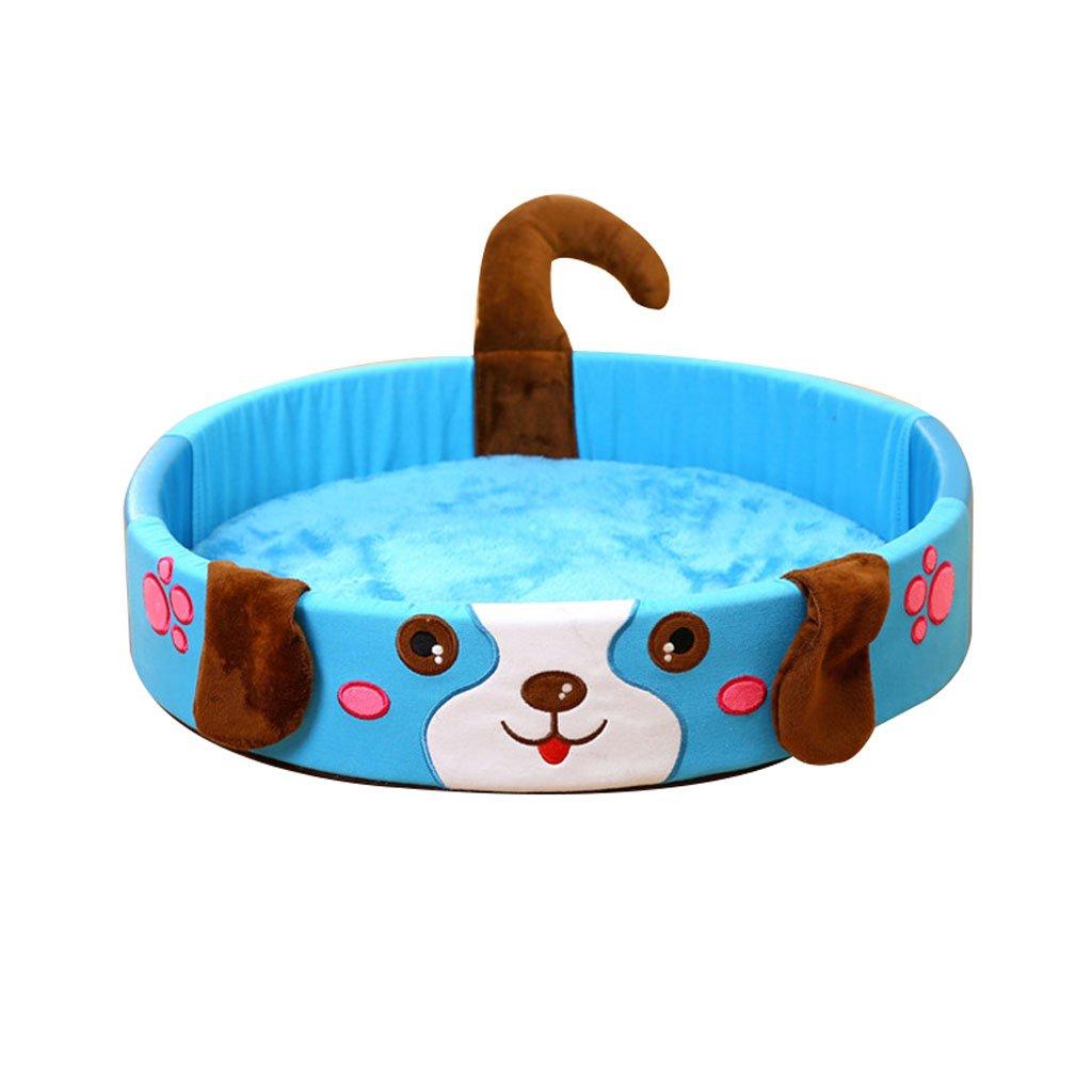 bluee Diameter 62cm bluee Diameter 62cm Yuan Yuan Small Dog Pet Bed Dog Mat Pet Mat Pet Sleeping Pad Pet Cat Dog Nest Cooling In Summer Pet Supplies dog bed