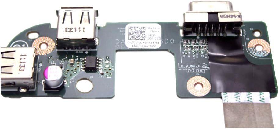 Dell Inspiron 17R N7010 Dual USB VGA Circuit Board 5NCX3