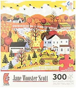 Jane Wooster Scott Autumn Hayride Jigsaw Puzzle