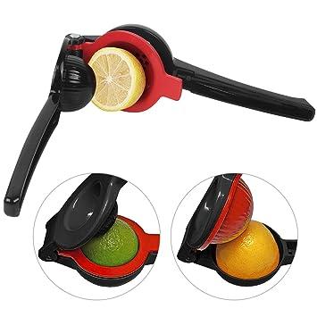 Compra Prensa para Limones / Exprimidor Manual de Limón Aluminio Duradero Utensilio a Mano para Limones Naranja Color Negro - Uvistare (Negro) en Amazon.es