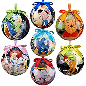 amazoncom world of disney ornament set 7 pcset 2011 disney item no 6434046651954p home kitchen