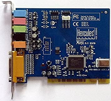 HERCULES SOUND CARD MUSE 5.1 DVD DRIVER DOWNLOAD