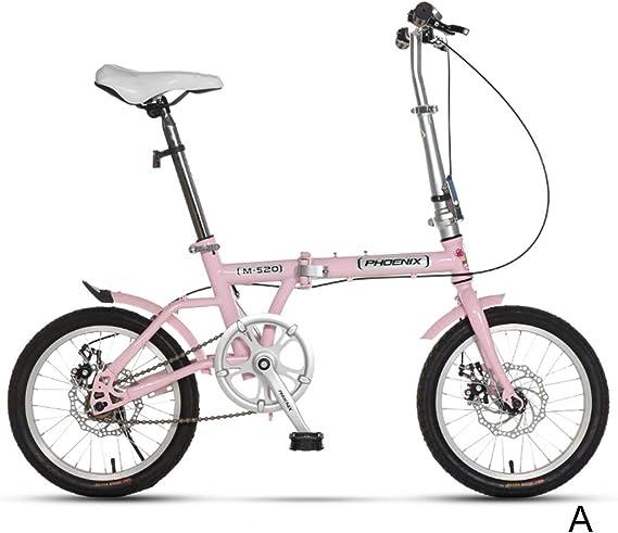 Bicicletas Sola Velocidad Estudiante Niño Niña Adulto Ligera 16 ...
