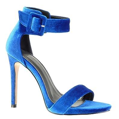 30131e4740e1f Angkorly - damen Schuhe Sandalen Pumpe - Stiletto - Sexy - String Tanga - Schleife  Stiletto