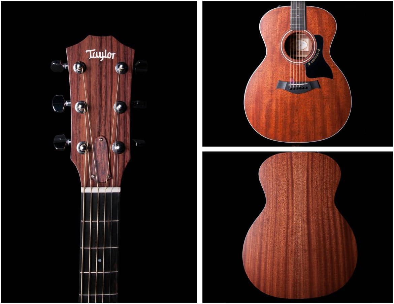 Taylor 324e Guitarra acústica, caoba Completo maciza, pastilla ...