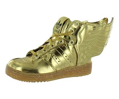 6f1268e3b992 Adidas Originals ObyO JS Jeremy Scott Wings 2.0 Gold M29013 Toddler Infant  kids Shoes (size