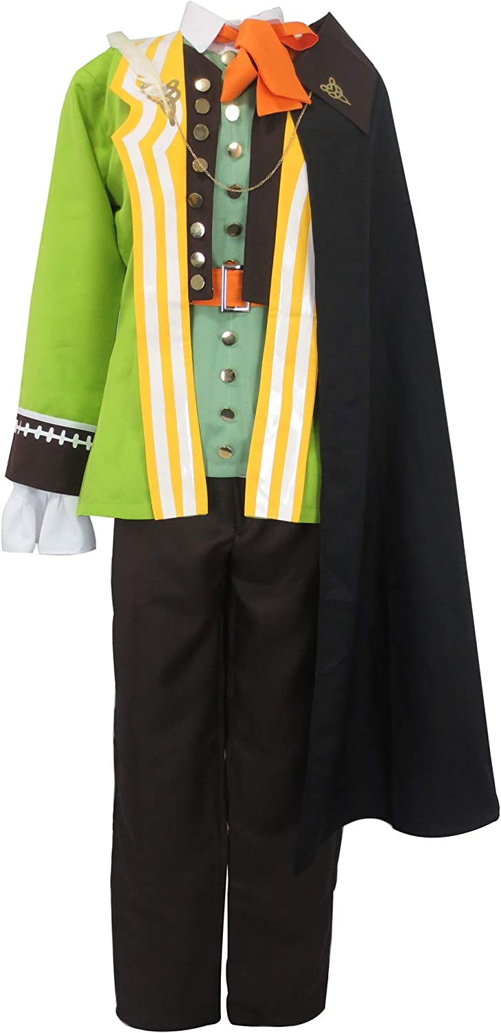 Amazon.com: Fate Servant Caster of Red William Shakespeare Uniform Outfit Cosplay  Costume (Male XS): Clothing