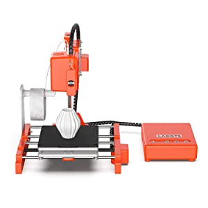 3D Printer, LABISTS Mini Desktop 3D Printer DIY kit for Beginners Kids Teens with 10M 1.75mm PLA Filament, Magnetic Removable Plate, Printing Size 100 x 100 x 100mm