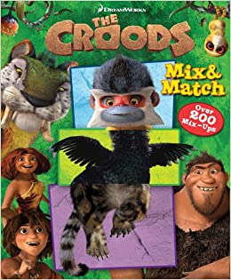 29d14f8d0 Amazon.com  The Dreamworks The Croods Mix   Match (9780794428013 ...