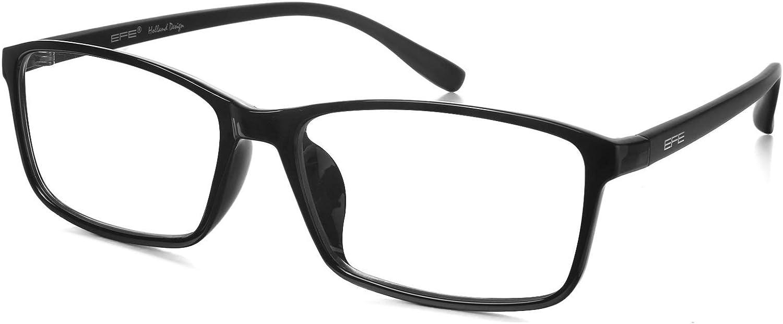 EFE Gafas Unisx con Filtro de Luz Azul Gafas de Ordenador Bloqueo de Luz Azul Anti-reflejantes para Hombre y Mujer