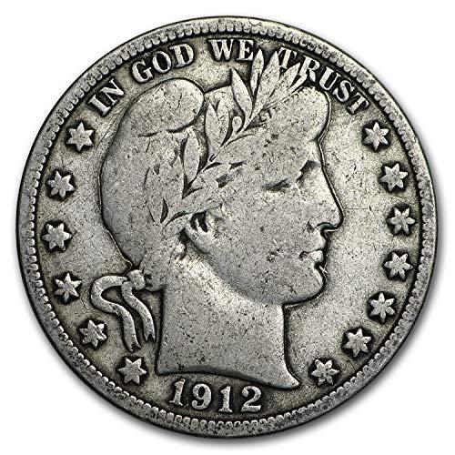 1912 Barber Half Dollar Fine Half Dollar Fine
