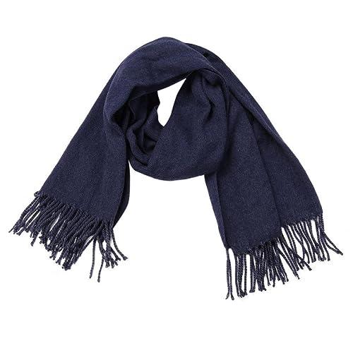 Koly_Inverno caldo delle donne degli uomini di lana lungo grande involucro Sciarpa