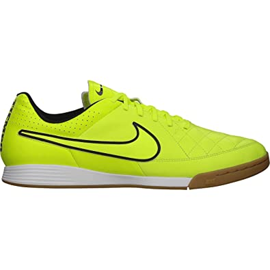 18a24bdf1 Amazon.com | Nike Men's Tiempo Genio Leather IC Indoor Soccer Shoe  (Volt/Volt-Hyper Punch-Black, 6.5) | Soccer
