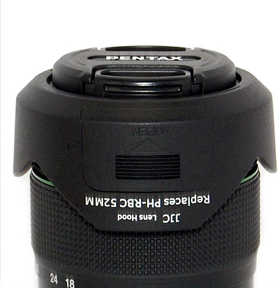 for Pentax K20D Pro Digital Lens Hood Flower Design 62mm