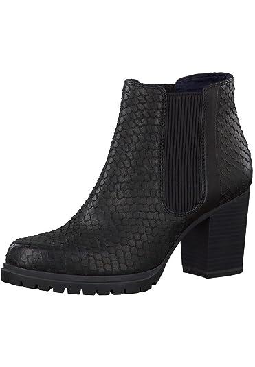 Tamaris Stiefel mit Absatz aus Leder
