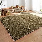 Pure color plush fashion mat carpet Living room [bedroom windows and carpets] Carpet-E 140x200cm(55x79inch)
