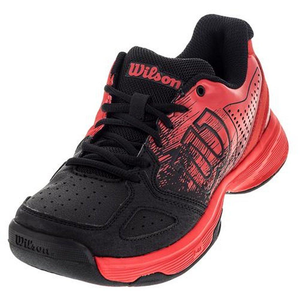 Wilson Kids KAOS Jr Comp Unisex Tennis Shoe Radiant Red
