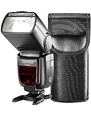 Neewer 2.4G HSS 1/8000 s TTL GN60 Funk Master Slave Blitz Speedlite für Sony A9 A7III A7RIII A7II A7RII A7SII A7R A7S A6500 A6300 A6000 A77II RX10II / III / IV Kameras (NW880S)