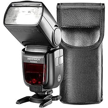 2.4 G HSS 1//8000s TTL inal/ámbrico Speedlite Flash para Sony sin Espejo A7 A7II A7III A58 NEX6 A6000 A6300 A6500 ESDDI Flash Speedlight para Sony