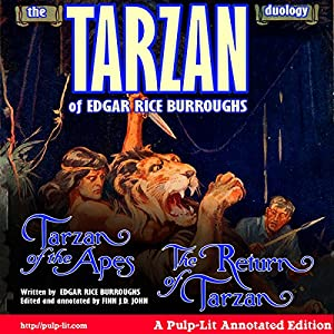 The Tarzan Duology of Edgar Rice Burroughs Audiobook