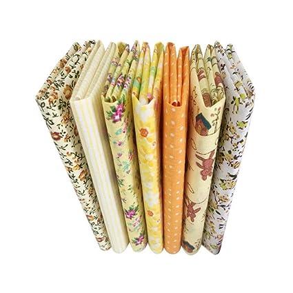 tela algodon floral DIY telas estampada hecho a mano tela de retazos costura patchwork paños craft