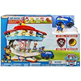 Paw Patrol Lookout Tower with 6 Pup Figures Headquarters