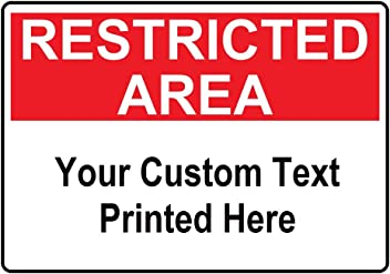 21 Admittance of Person Under Twenty-One Years of Age Prohibited by Law Sign Aluminum by ComplianceSigns White 14x10 in