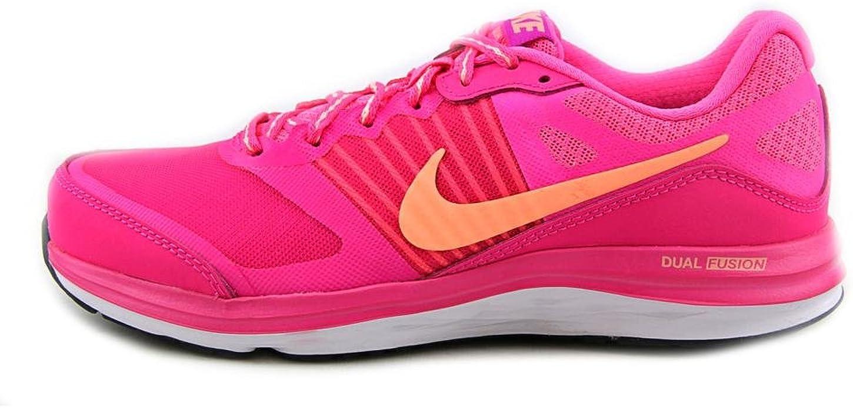 Nike Dual Fusion X, Zapatillas para Mujer, Rosa/Naranja/Blanco, 38 EU: Amazon.es: Zapatos y complementos