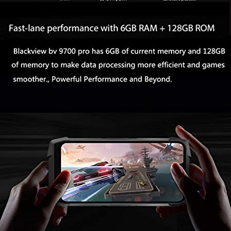 Amazon.com: Blackview BV9700 PRO,Android 9.0 4G Smartphone ...