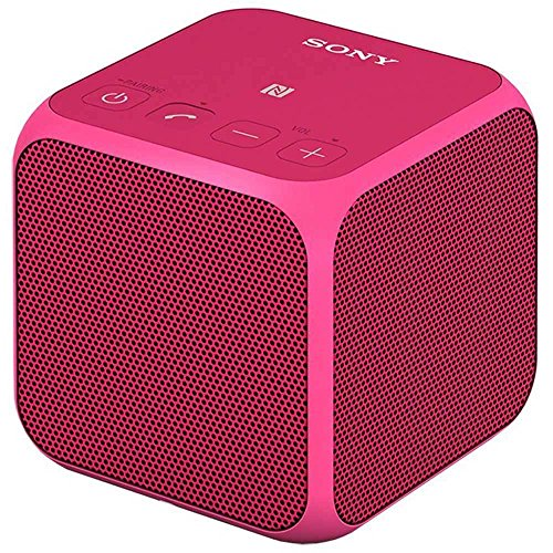 折扣 Sony SRSX11 Ultra-Portable Bluetooth Speaker (Pink)