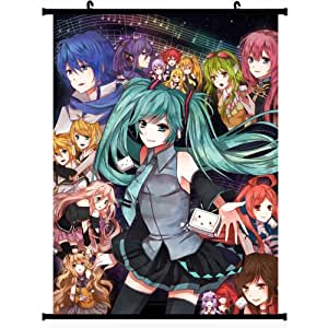 Amazon.com: Vocaloid Anime Wall Scroll Poster (24''*32