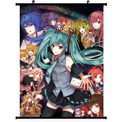 Vocaloid Anime Wall Scroll Poster 24*32 support Customized