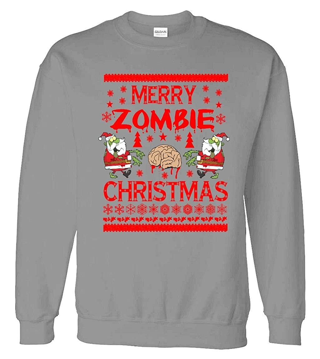 Amazon.com: Sweater: Merry Zombie Ugly Christmas Sweater: Clothing