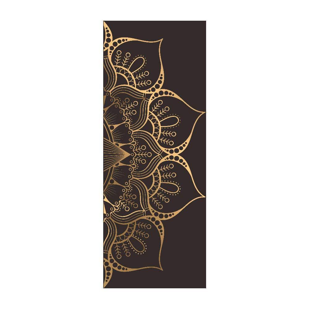 Decoration De La Maison Qmtzdq Stickers Porte Autocollants De Modele De Porte Mandala Stickers Muraux De Fenetre Creative De Porte En Bois De Renovation Cuisine Maison Hotelaomori Co Jp