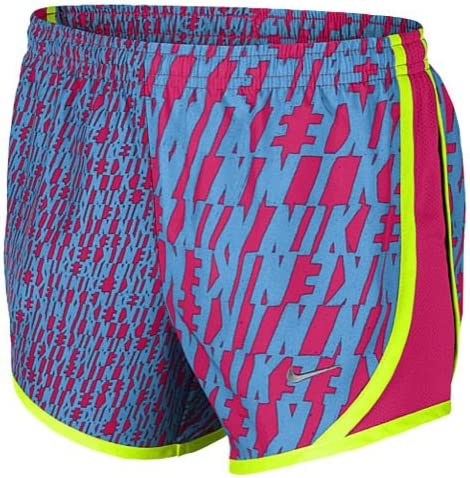 Nike Tempo Shorts Running Girls Vivid Pink//Vivid Pink//Matte Silver