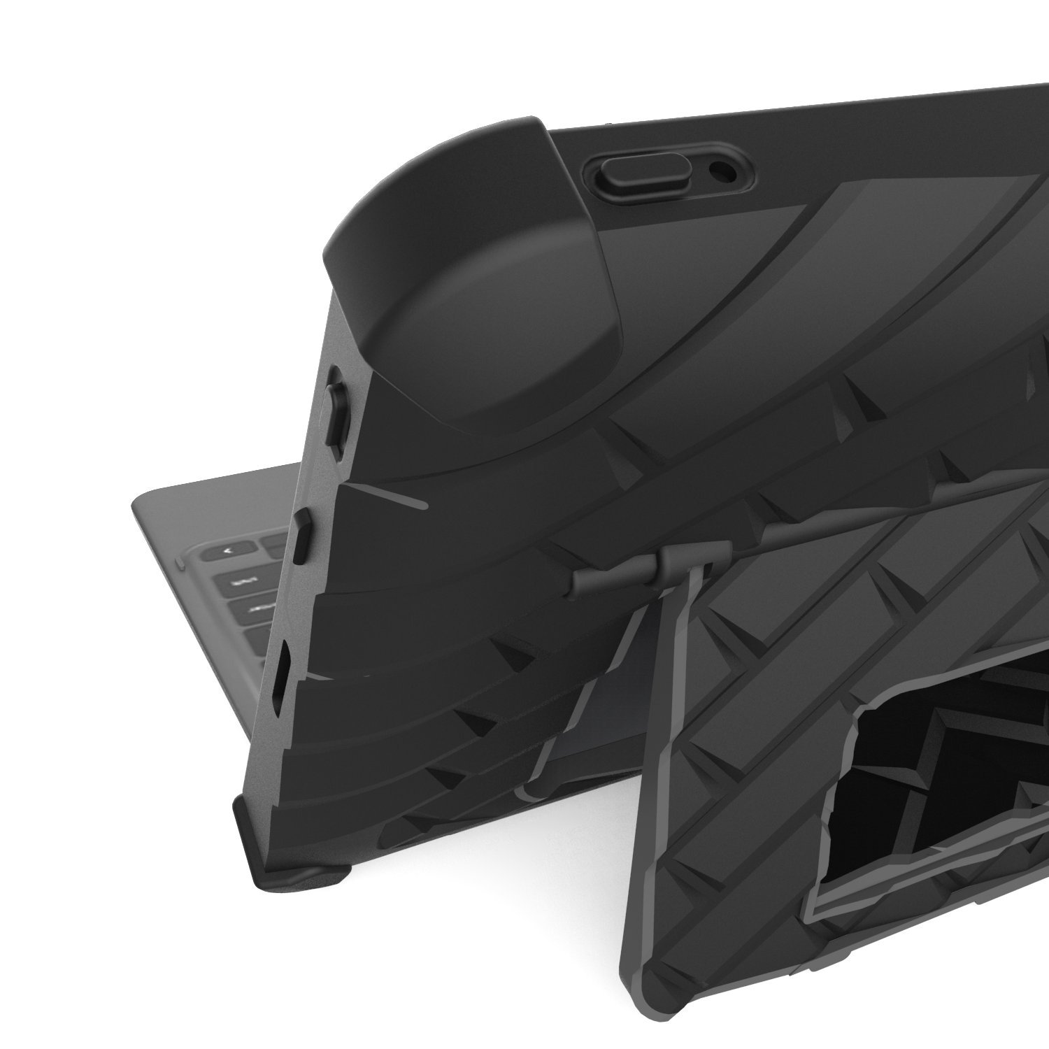 Gumdrop Hideaway Case for Dell Latitude 11'' 5175/5179 2-in-1, Secure Black, Custom Molded Shell, Rugged, Shock Absorbing Laptop Cover with Built-in Stand and Screen Protection Student Business Users by Gumdrop Cases (Image #1)