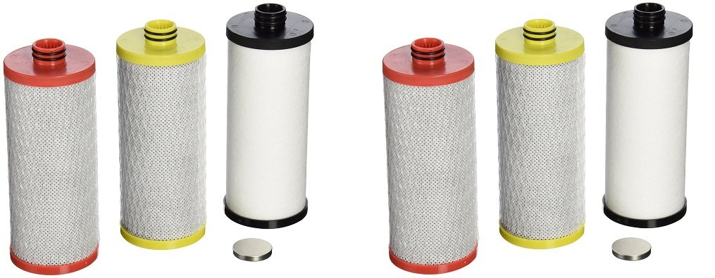 Aquasana AQ-5300R 3-Stage Under Sink Water Filter Replacement Cartridges (2 PACKS OF 3)