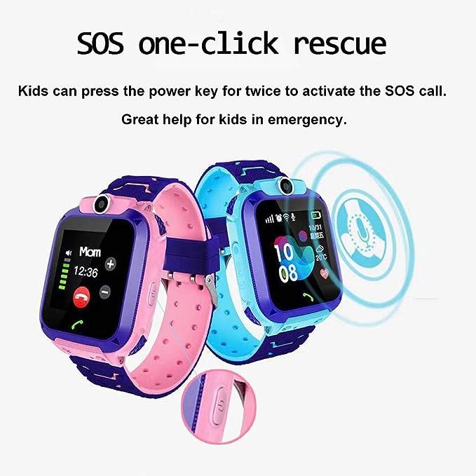 Amazon.com: HuaWise - Reloj inteligente para niños (tarjeta ...