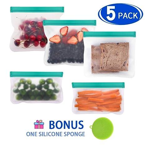 Amazon.com: Bolsas reutilizables para sándwiches, extra ...