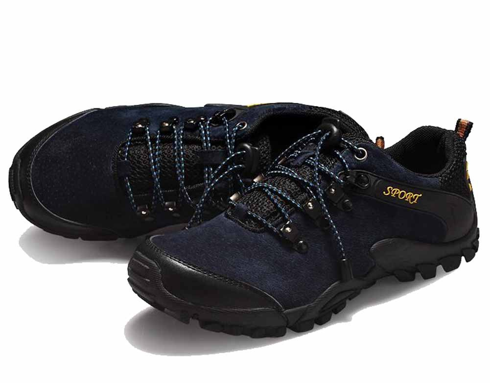 SHIXRAN Herren Breathable Casual Sportschuhe Herbst Wasserdichte Turnschuhe Resistance Wear Outdoor Lace Up Wandern Schuhe