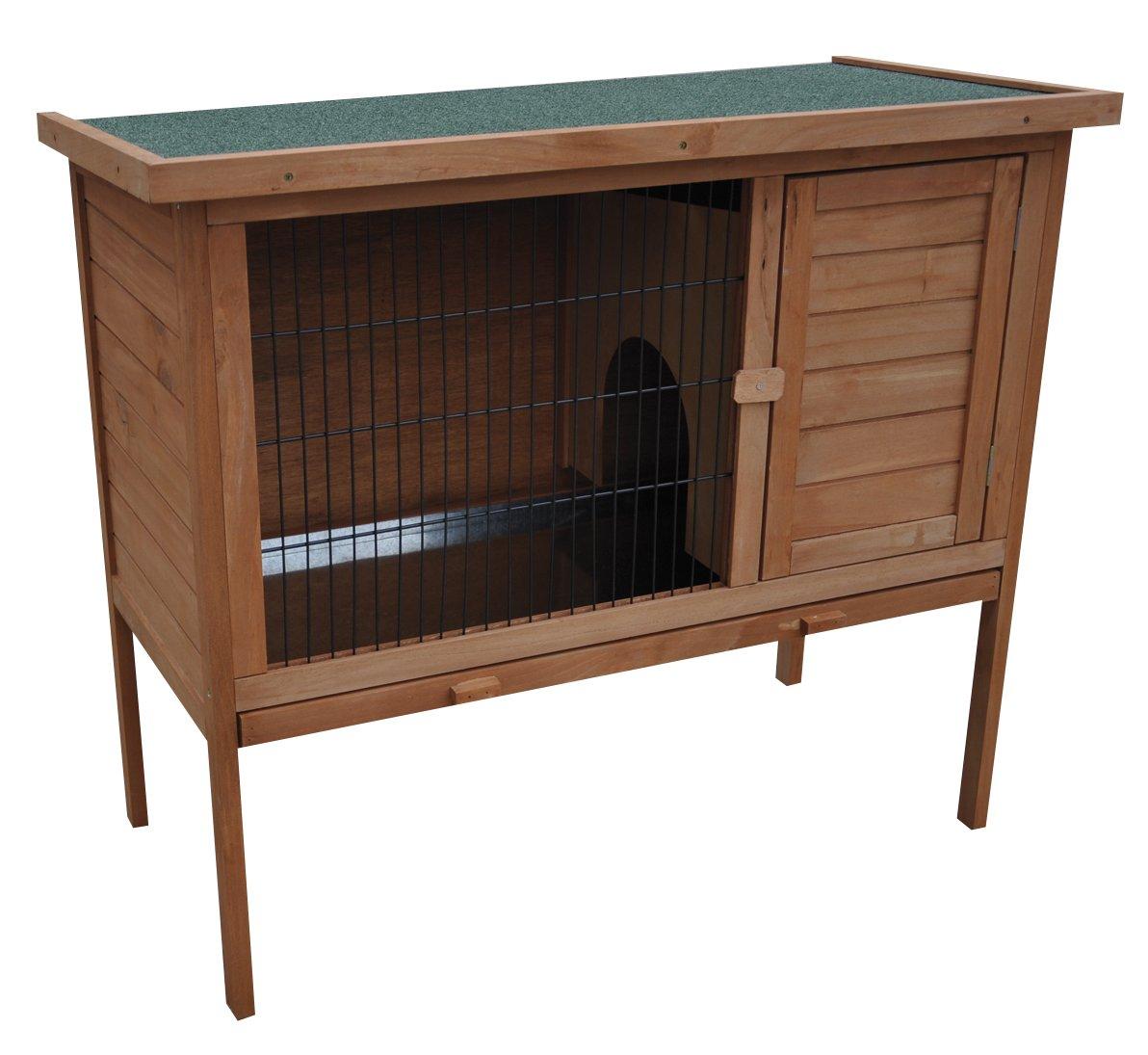Croci R6075970 Außenkäfig für Kaninchen, 103 x 91 x 52 cm