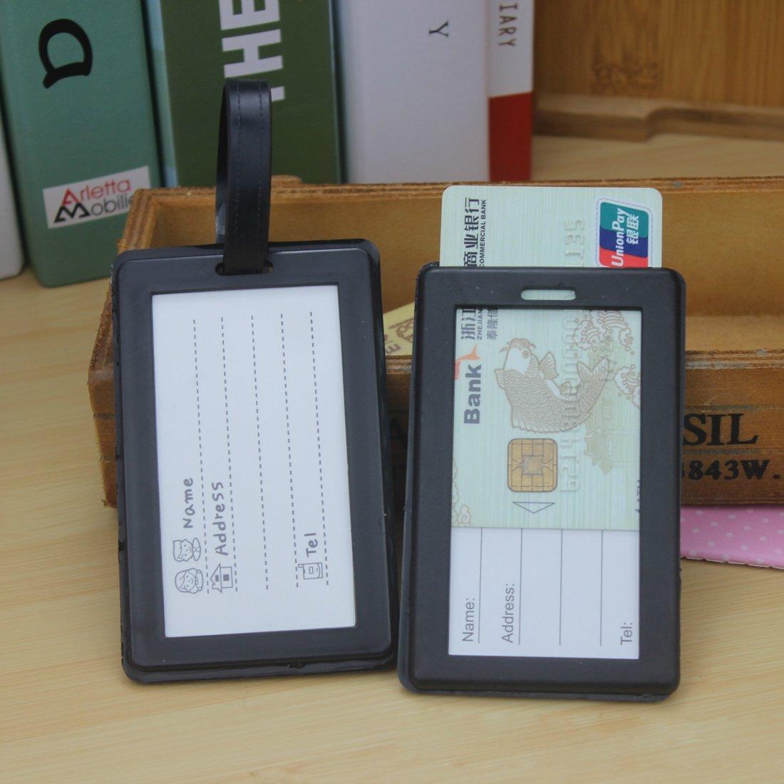 Kigurumi Etiqueta de Equipaje Etiquetas de para Bolsa de Viaje Maleta